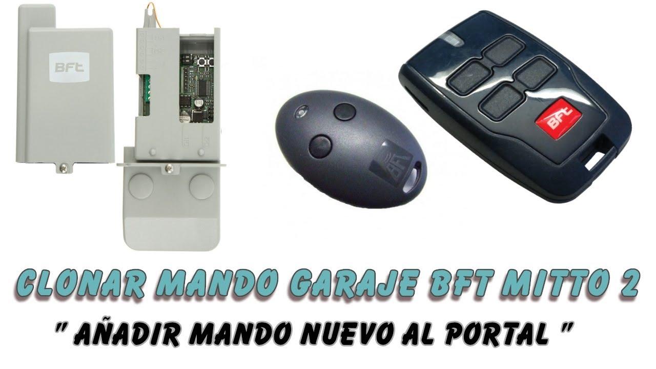 Anadir Clonar Mando Garaje Mitto 2